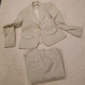 Seafoam Green Seersucker Suit